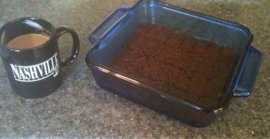 hot chocolate and fudge